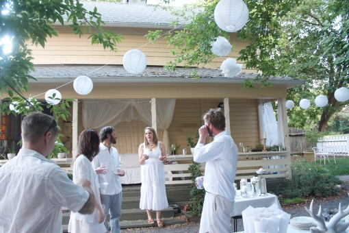 A White Party