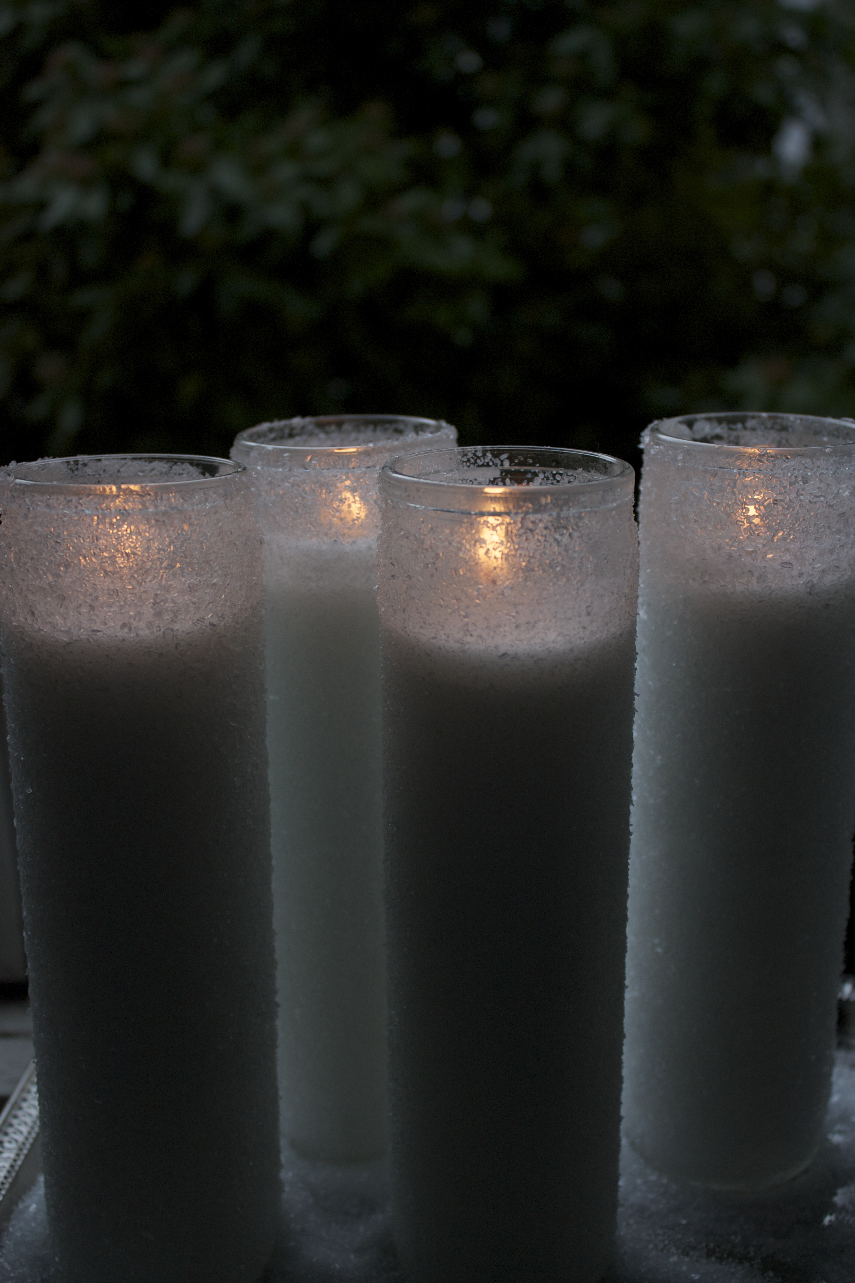 Crystallized Candles
