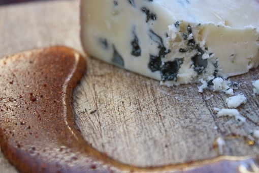 Caveman Blue Cheese with Cyan honey - Beer tasting party