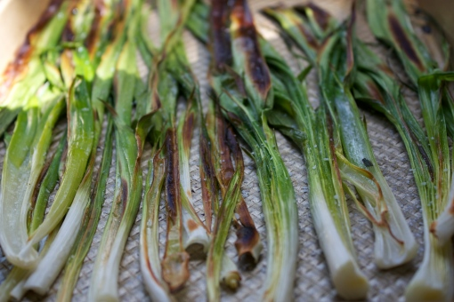 Green Garlic - Roasted