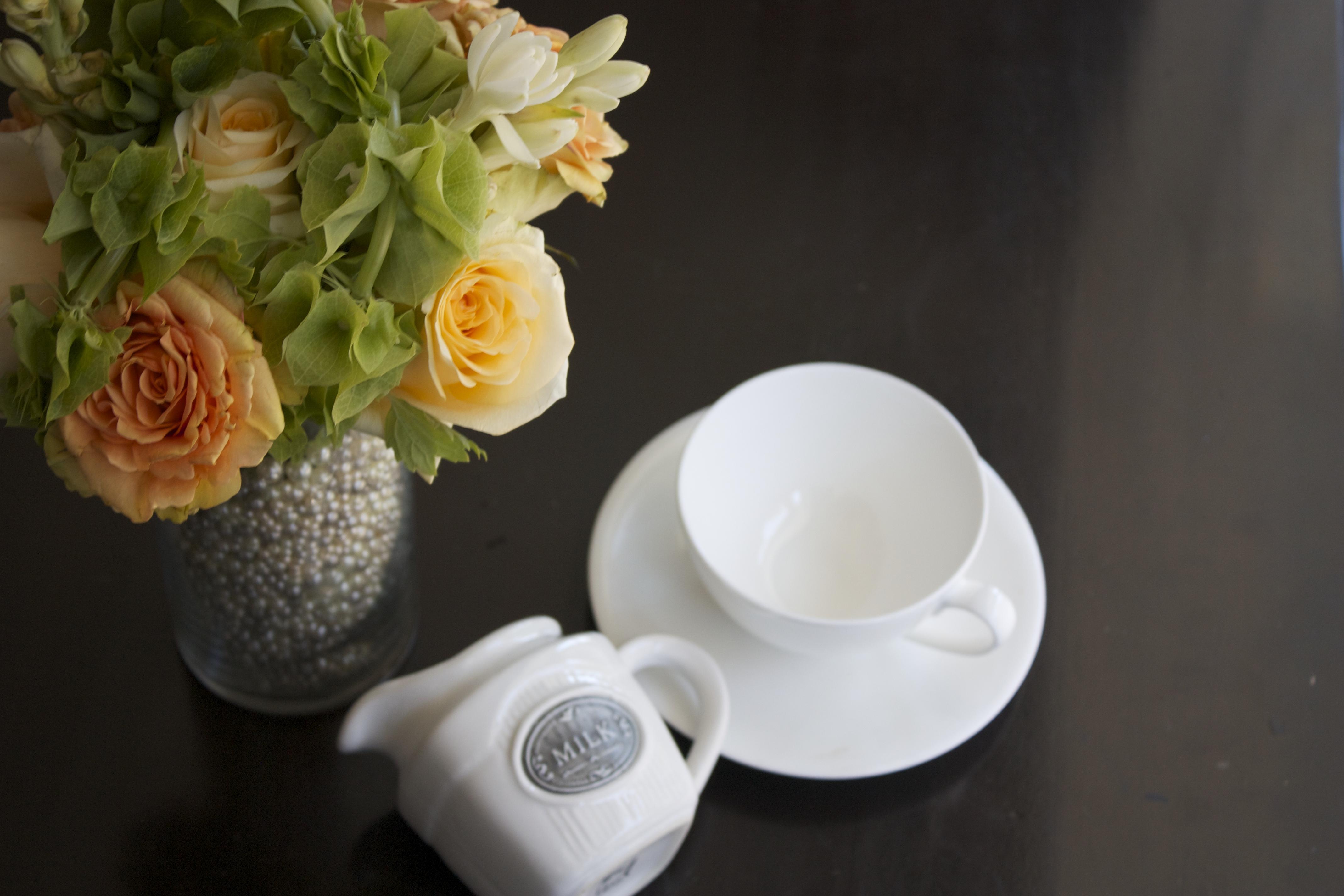 Pearl Vase Bouquet
